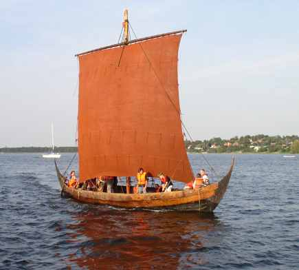 Vikingeskib Roar Ege - viking ship