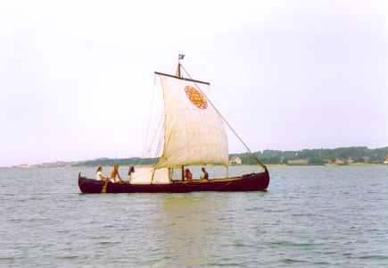 Vikingeskib Røde Orm - viking ship