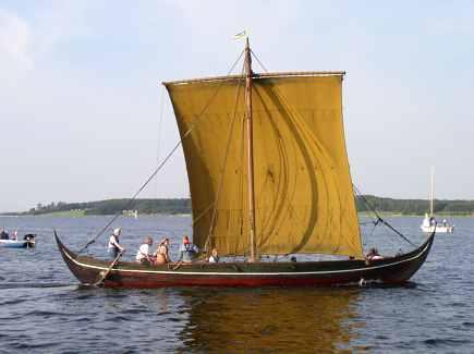 Vikingeskib Sif Ege - fotograf: Michael Borgen